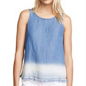 BB Dakota Ceana Raw Hem Tank